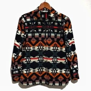 Woolrich Aztec Print Brushed Cotton Flannel S